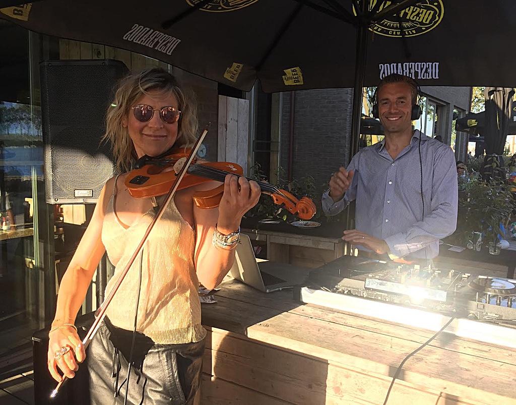 Violin Girl trendy-dj